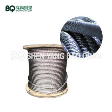 35Wx7-14mm  Wire Rope for 10t Tower Crane