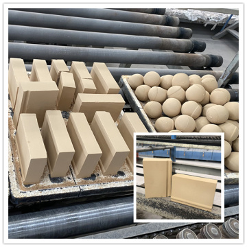 Alumina Ceramic Brick Ball Mill Wear Resistant Linings