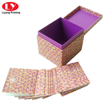 Luxury invitation cards gift box printing