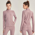 Women's Full-Zip Running Top With Thumb