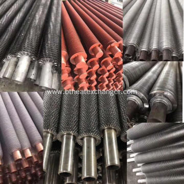 High Frequency Welding Serrated Spiral Fin Tube
