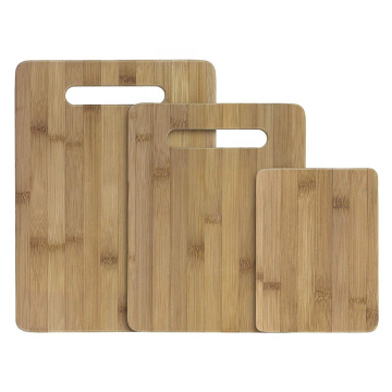Bamboo 3-Piece Bamboo Serving and Cutting Board Set: Cooking Utensils