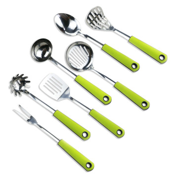 stainless steel kitchen utensil cooking tool set