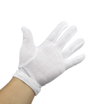 New Product Customized Design Cotton Knitted Parade Gloves
