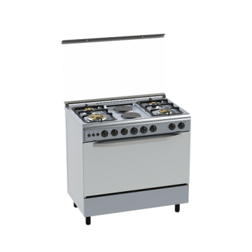 Freestanding Gas Cooker Stainless Steel