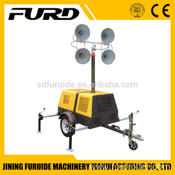 Diesel Generator Trailer Type Mobile Led Lighting Tower (FZMT-400B)