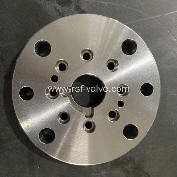 Adapter Plate of Trunnion Mounted Ball Valve