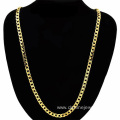 Copper Chain Necklace Men Women 18K Gold Plated Necklace