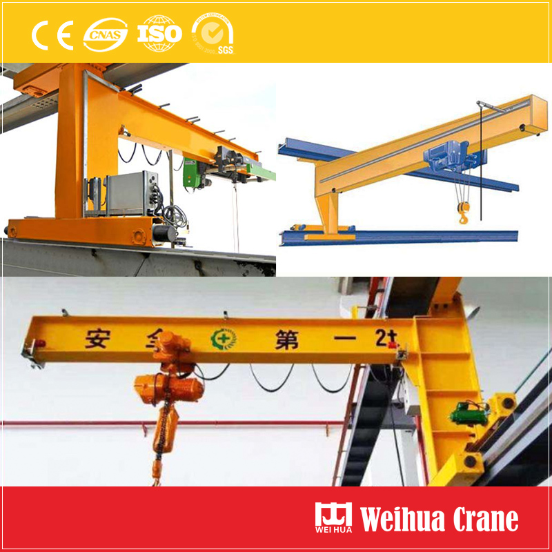 Traveling Wall Jib Crane