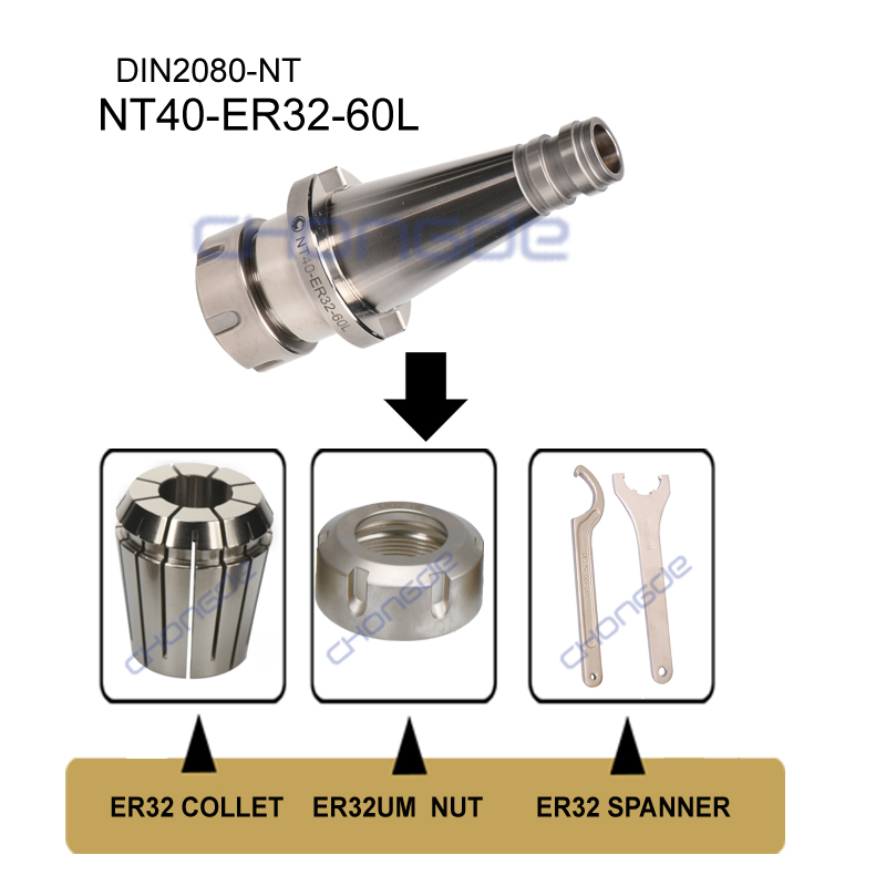 Nt40 Collet Chuck