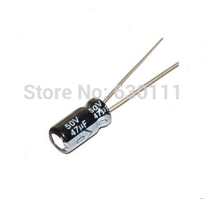 47UF 50V 47mf 105C 6x12mm Aluminum Electrolytic Capacitor 50V47UF radial lead