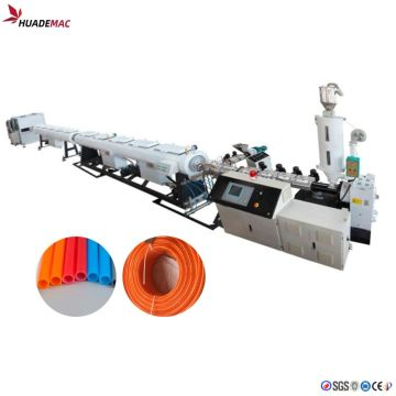 PERT underfloor heating pipe making machine