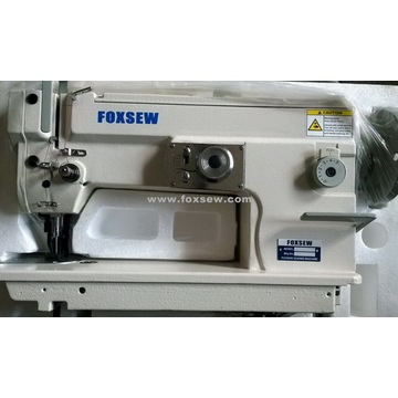 Top and Bottom Feed Heavy Duty Zigzag Sewing Machine (Automatic Oiling and Large Hook)