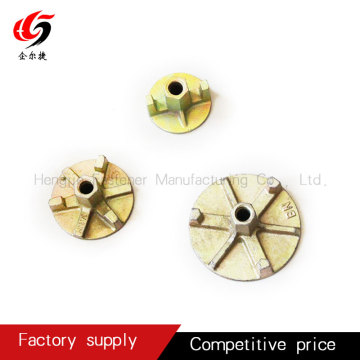 tie rod wing nut in construction formwork accessories