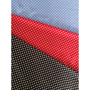 Dots Design Rayon Challis 30S Light Printing Fabric