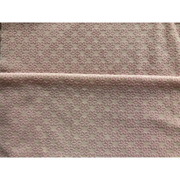 Polyester Spandex Mesh with Flocking