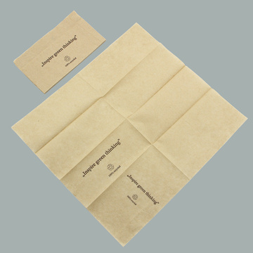 Unbleached Brown Paper Napkin