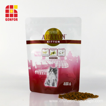 Stand Up Pouch For Cat Treat Food