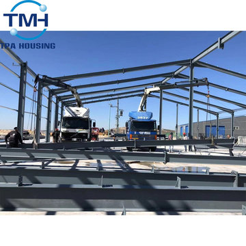 pre engineered light steel structure warehouse building
