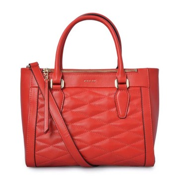 Luxury Vintage Quilted Leather Handbags Ladies Tote Bags