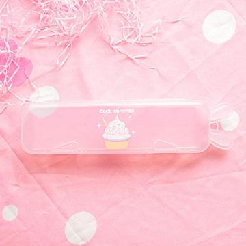 TRANSPARENT ICE CREAM PENCIL CASE-0