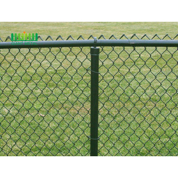 Hot Dipped Galvanized Used Chain Link Fence