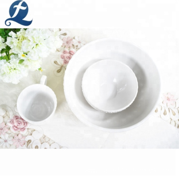 Hot sale kitchen dinnerware restaurant custom ceramic dinner set