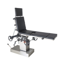 Manual type medical operating surgical table