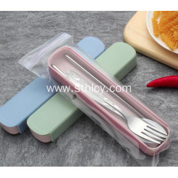 Stainless Steel Portable Tableware Set