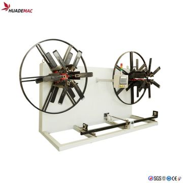 Singles Double Plate Plastic Pipe Winder