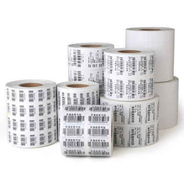 OEM custom printing thermal transfer adhesive label stickers