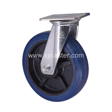 8 inch  rubber wheel with Plastic core