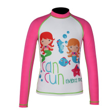 Seaskin Long Sleeve Red Rash Guard Swimwear Toddler