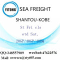 Shantou Port Sea Freight Shipping To Kobe