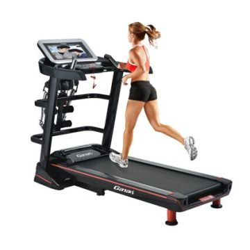Ganas 2017 Newest Treadmill with Big Screen TV