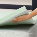 "3"" Green Tea Memory Foam Topper Full"