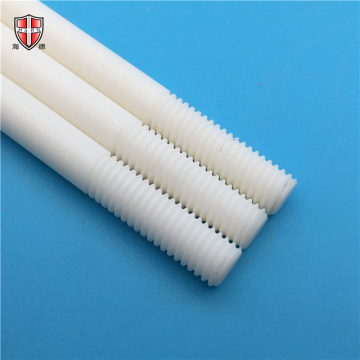 abrasion resistant 99% alumina ceramic thread rod shaft