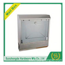 SMB-056SS High Quality German Small Outdoor Cold-Rolled Waterproof Metal Mailbox