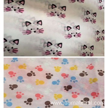 Printed Biodegradable Fabric Nonwoven