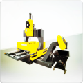 Gantry Move Plates Drilling Machine