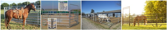 corral panel fence