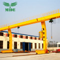 5 16t L Shape Electric Hoist Gantry Crane