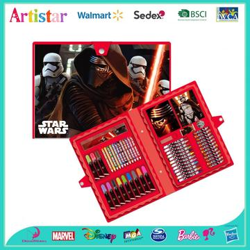 STAR WARS 54 pieces coloring art set