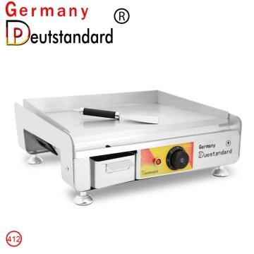 Commercial griddle electric BBQ Teppanyaki  machine