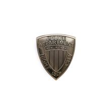 Night City Badge 2077 Cosplay Vintage Pins Tag Police Department Brooch Shirts Coat Brooches Punk Jewelry Party Props Men Lapel