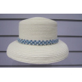 Fine Paper Braid Pearls Trimmed  Sun Hats