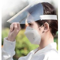 disposable anti-fog face shield hat protection