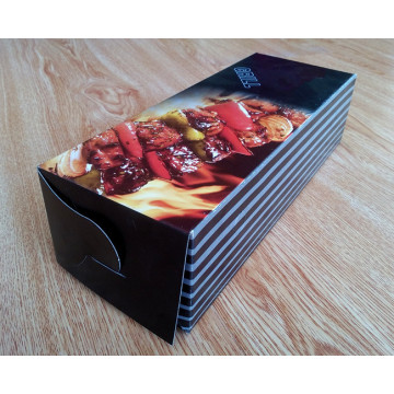 High quality folding barbecue skewer box