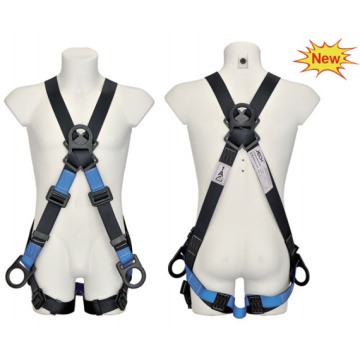 High tenacity fall protector full body safety harness belt