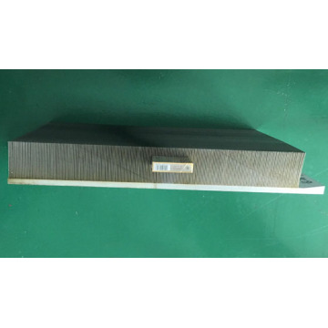 600 mm Skiving Fin heatsink Skived Aluminum Plate
